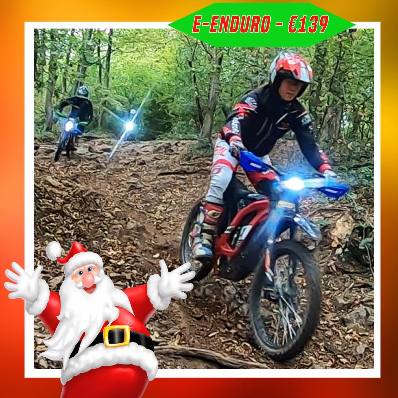 Kerst-initiaties Bilstain Endurofun 36 Surron
