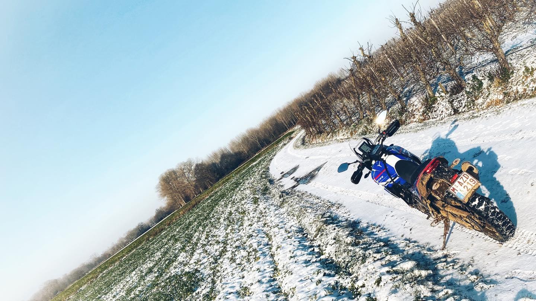 Endurofun Yamaha Tenere mid winter 2